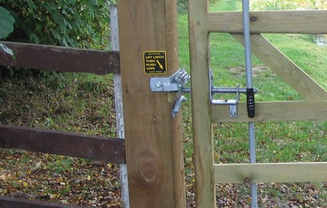 EASY LATCH for 2 Way Gate